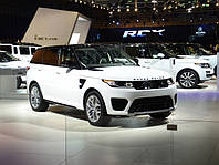 Range Rover Sport SVR. Автоновости.