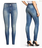 Джинсы моделирующие фигуру H&M Shaping Skinny Regular Jeans, фото 1