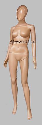 Манекен объемный женский в полный рост с головой аватара2 Сивоян с прической, фото 2