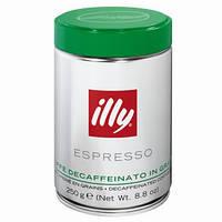 Кофе illy Caffè in Grani Decaffeinato 100% арабика в зернах (без кофеина)