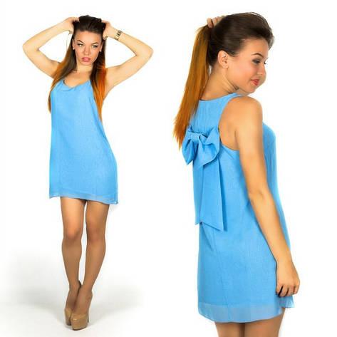 Голубое платье 15560 , фото 2