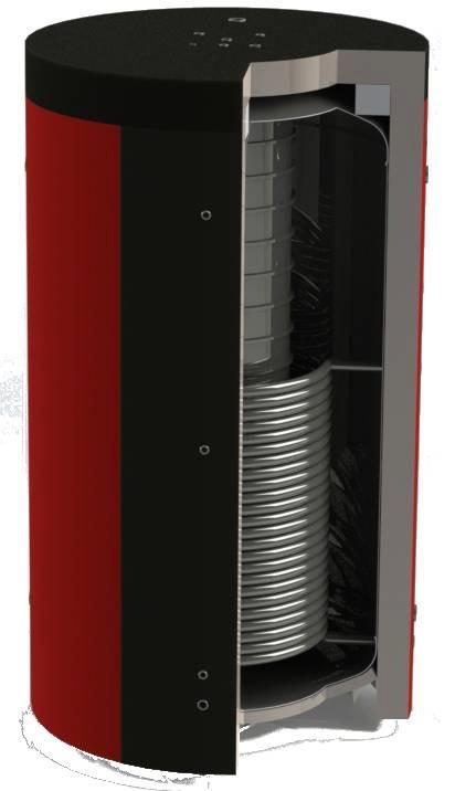 Буферная емкость для котлов (аккумулирующая емкость) KHT EAB-01-2000/85
