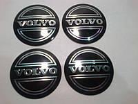Наклейка выпуклая на колпачок диска Volvo 56 мм