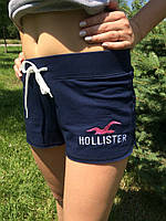 Женские шорты Hollister синие