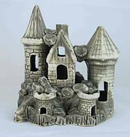 Кераміка для акваріума Замок середній, 18х20 див., фото 1