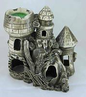 Керамика для аквариума Замок средний, 21х22 см., фото 1