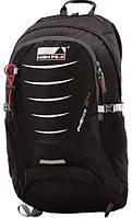 Надежный городской рюкзак 24 л. совместим с питьевой системой High Peak Phenix 24 (Black), 922687 черный