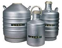 Жидкий азот в Дьюарах
