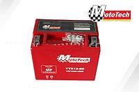 Гелевый аккумулятор АКБ АКБ YTX12-BS Мототех/MotoTech