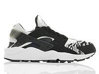 Кроссовки Nike Air Huarache Run PA Knit Black White, фото 1