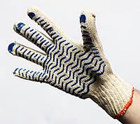 Перчатка рабочая «Волна» (материал хлопок/ПВХ), Китай