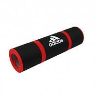 Коврик для гимнастики Adidas 0,6 см черный ADMT-12231