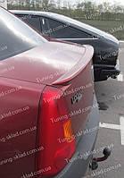 Лип спойлер на Рено Логан 1 (спойлер на крышку багажника Renault Logan 1)