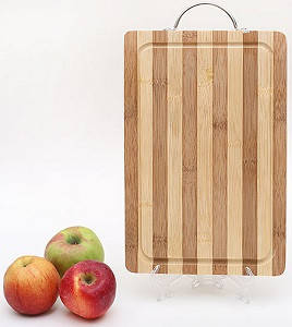 Доска разделочная, бамбуковая 30 x 20 x 1,5 см