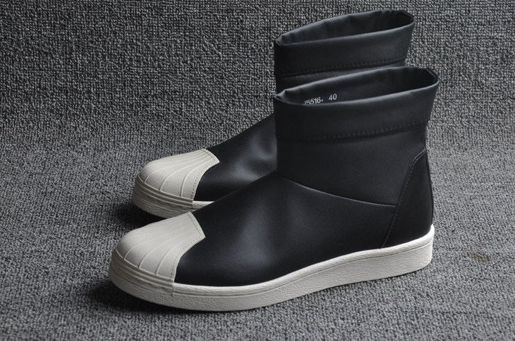 Кроссовки женские Adidas Superstar Ankle Boot x Rick Owens / ADW-640