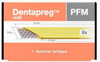 Лента шинирующая стекловолоконная DENTAPREG Bridge 5 см PFM