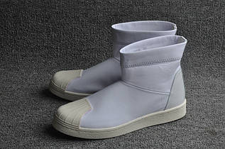 Кроссовки женские Adidas Superstar Ankle Boot x Rick Owens / ADW-641 (Реплика)