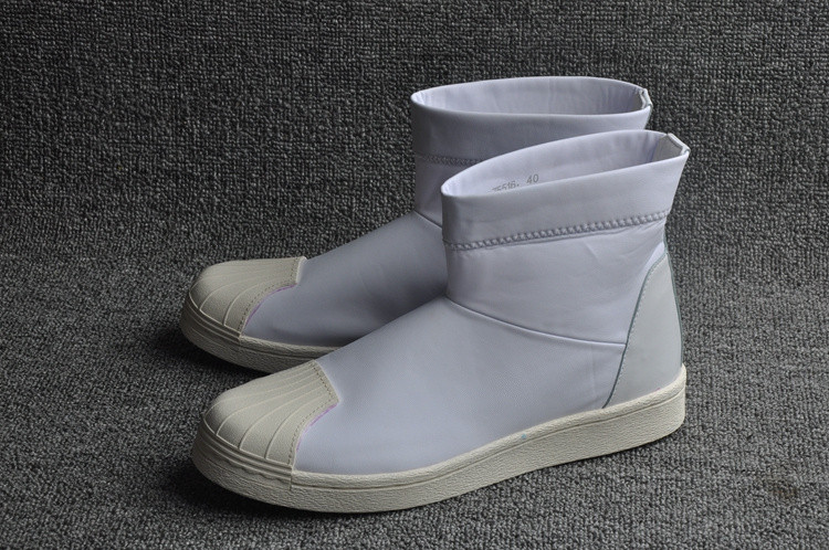 Кроссовки женские Adidas Superstar Ankle Boot x Rick Owens / ADW-641