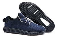 Кроссовки  Adidas Yeezy Boost 350 Low Dark Blue, фото 1