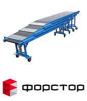 Рольганг телескопический у конвейеры транспортеры ленточные для