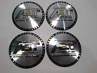 Наклейка выпуклая на колпачок диска ABT 56 мм