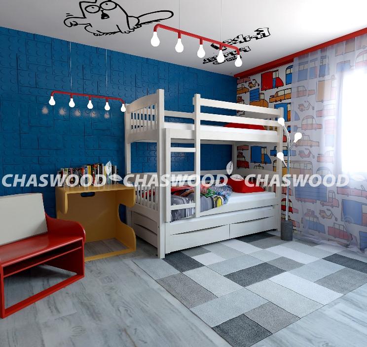 """Двухъярусная кровать """"Трио+""""  Chaswood"""