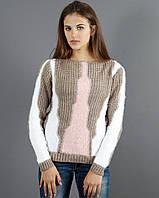 Шерстяной вязаный свитер , фото 1