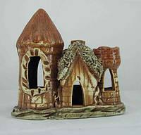 Керамика для аквариума Башня-дом, 16х16 см.
