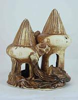 Керамика для аквариума Домики, 10х15 см., фото 1