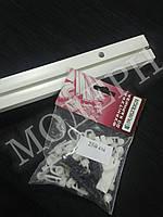 Карниз потолочный пластиковый на одну дорожку КС-1 длина 2,5м