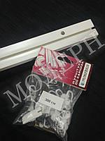 Карниз потолочный пластиковый на одну дорожку КС-1 длина 3м