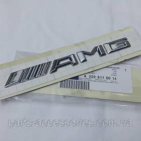 Эмблема значок на багажник AMG Mercedes CLS CLS-Class W218 CLS63 2011-17 новый