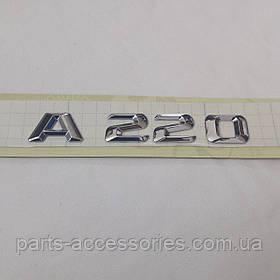 Mercedes A-Class W176 13-17 емблема значок на багажник A220 новий