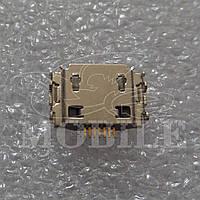 Коннектор Micro USB (3722-002867) Orig Samsung II9000/I9001/I9003/I9010/I9020/I9023/S5260/S5530