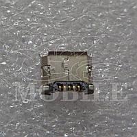 Коннектор Micro USB Fly Ezzy Trendy 2 (01.12.060519) 5 pin Orig