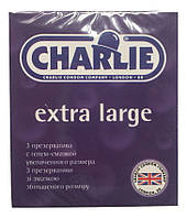 Презервативы Charlie Extra Large № 3 увеличенного размера со смазкой