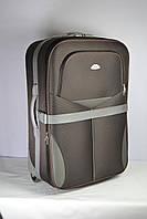 Дорожный чемодан серый 80