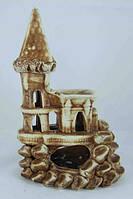 Кераміка для акваріума Замок малий, 12х20 див., фото 1
