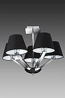 Люстра MaxLight ORLANDO 5103-5A BK-CR