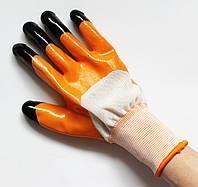 Перчатка рабочая (стрейч, покрытие - латекс, размер - 9, Китай)