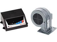 Комплект автоматики для твердотопливных котлов KG Elektronik SP-05 LED+ WPAX2  M+M