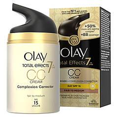 CC крем для лица OLAY Total Effects 7-в-1 для кожи от смуглых до очень смуглых оттенков 50 мл