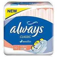 Прокладки гигиенические Always Classic Sensitive Soft Normal single 10 шт