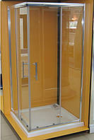Душевая кабина квадратная Vilarte CO-100 100x100x185