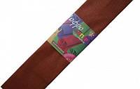 Бумага гофрированная коричневая 7015224 Вересня