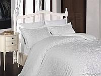 Комплект постельного белья First Choice Сатин Люкс Sweta-beyaz, фото 1