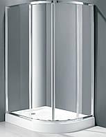 Душевая кабина асимметричная Italian Style Elegant E562 LM 120x90x185 левосторонняя