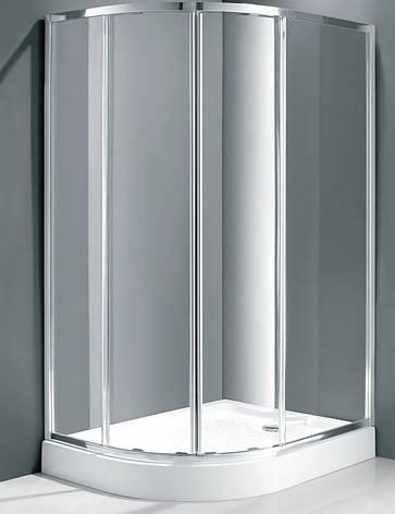 Душевая кабина асимметричная Italian Style Elegant E562 RM 120x90x185 правосторонняя, фото 2