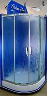 Душевая кабина полукруглая Italian Style Fonte M392OA 90x90x185
