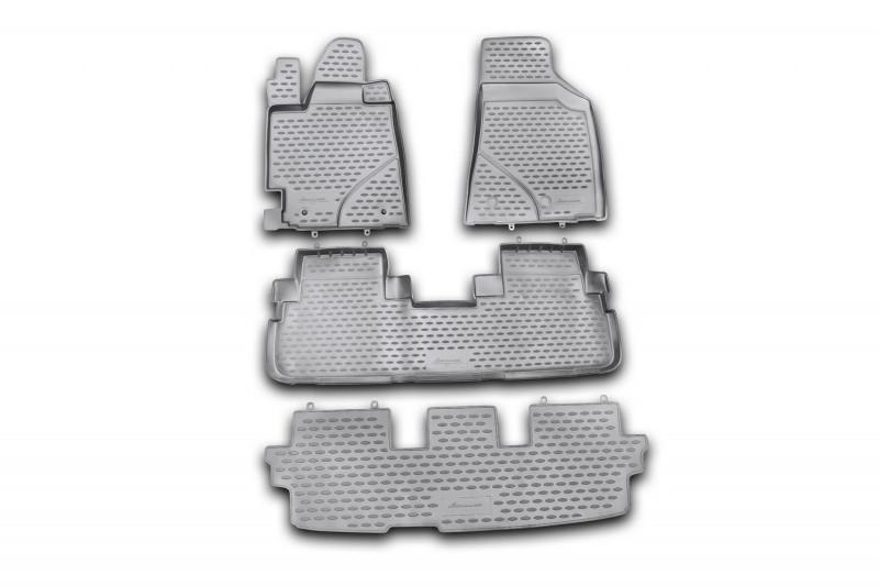 Килимки в салон для Тойота Highlander, 2010-2014, 4 шт поліуретан NLC.48.50.210 kh